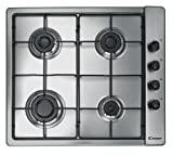 Candy CLG64SPX 60 cm Stainless Steel Gas Hob