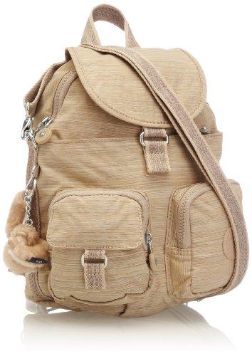 Kipling Womens Firefly N Backpack K13108A95 Dazzling Beige