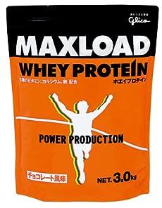 グリコ パワープロダクション マックスロード ホエイプロテイン チョコレート風味 3kg