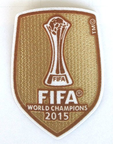 Official FC Barcelona Fifa 2015 Patch 2016-2017 Soccer Jersey Badge Football Shirt Club World Champions (Fifa World Champions Patch compare prices)