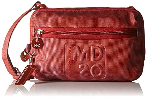 Mandarina Duck Md20 15116mn4, Borsa a tracolla donna , Rouge (Flame Scarlet 13C) (Rosso) - 15116mn4_Flame Scarlet 13c
