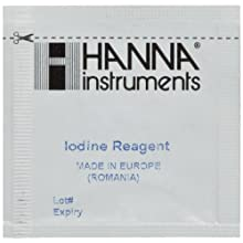 Hanna Instruments HI 718-25 Reagents Iodine for HI 718 Checker HC (Pack of 25)