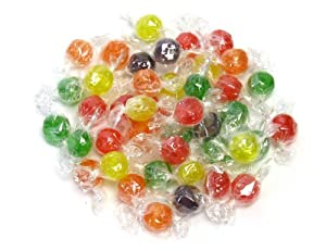Primrose Assorted Sour Fruit Balls 2 Lb