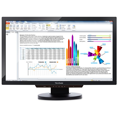 ViewSonic SD-T225_BK_US0 22-Inch Screen LCD Thin Client Monitor