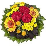"""Blumenstrauß  """"Blütenmeer"""" mit roten Rosen"""