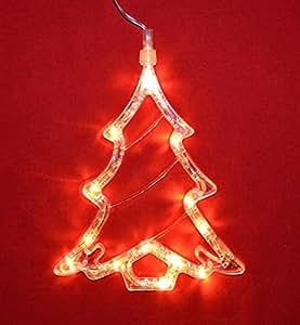 LED Fensterlicht Fensterbild Tannenbaum Weihnachtsdeko