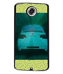 PrintVisa Metal Printed Car Designer Back Case Cover for Motorola Nexus 6/ Nexus X-D5081