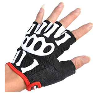 Cycling Protection Gloves Short Finger Fingerless Comfortable Gloves by MAYSU