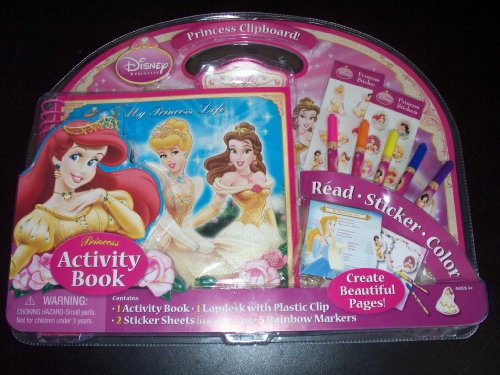 Disney Princess Activity Book Set - 1