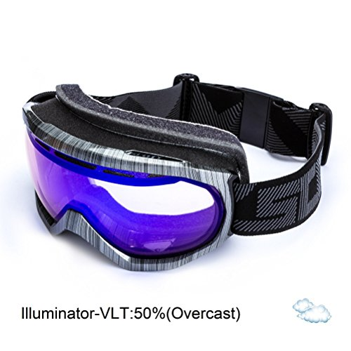 SCOTT US Notice OTG Goggle, Steel Grey/Illuminator