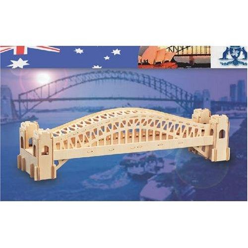Picture of Puzzled Sydney Bridge 3D Woodcraft Construction Kit (B001A2J1WA) (3D Puzzles)