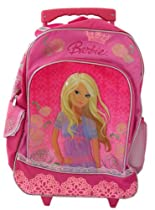 Barbie Rolling Backpack - Barbie Luggage School backpack
