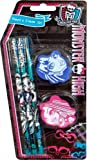 Monster High Stationery Character Pencil & Eraser Set