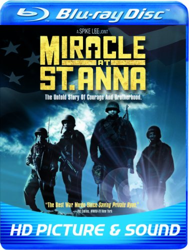 Cover art for  Miracle at St Anna  [Blu-ray]