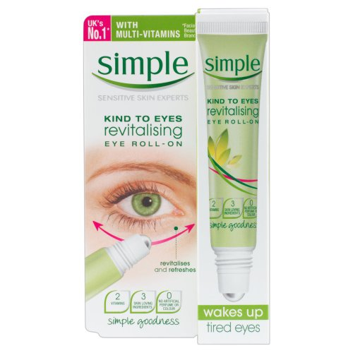 Simple Kind To Eyes Revitalising Eye Roll On 15 ml images