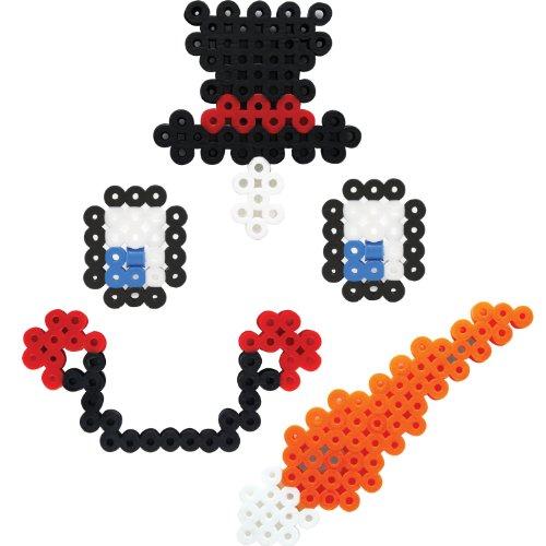 Perler Beads Biggie Bead Fused Bead Kit, Decorate a Snowman - 1