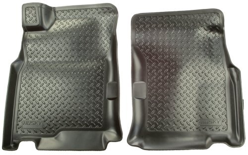 Husky Liners 35751 Black Custom Molded Front Floor Liner