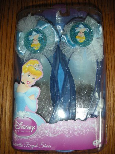 Disney Princess Cinderella Royal Dress Up Shoes