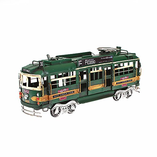 Metal Model Train X Large Approx. 32cm x 8cm x 12cm green