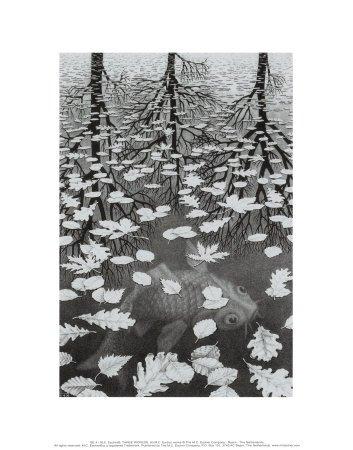 stampa-artistica-tre-mondi-per-m-c-escher-dimensione-28-x-36-cm