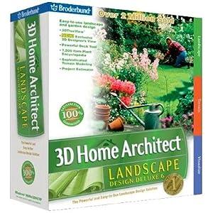 3d home architect landscape designer 6 deluxe for Broderbund 3d home landscape design