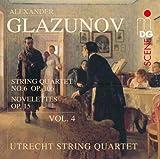 echange, troc  - Intégrale des Quatuors à cordes vol. 4 : Quatuor op. 106 & Novelettes op. 15