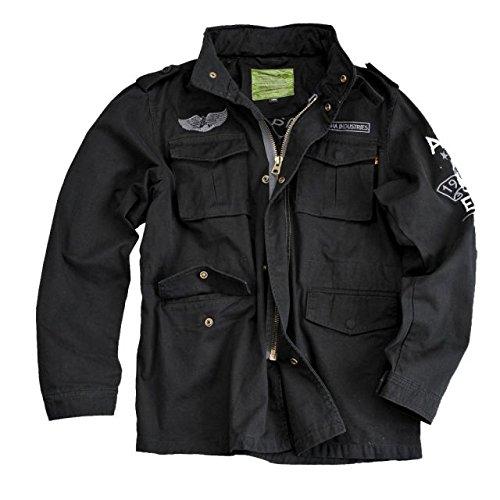 Alpha Ind. Jacke Eagle Skull Jkt – black kaufen