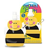 Stephen Joseph Little Squirts Bee Water Bottle, Multicolor, 2-Pack