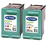 2x HP 351XL Remanufactured Tri-Colour Ink Cartridges for use with HP Officejet J5730, J5780, J5785, J6410, J6415 & J6424 Printers by Ink Trader