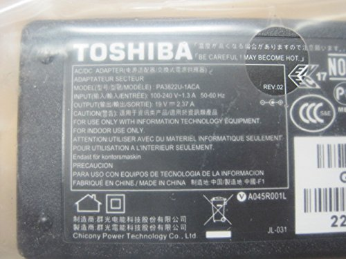 45W 19V AC Power Adapter Charger for Toshiba Satellite C55-A5281 new genuine [] адаптер питания для ноутбука hp 45w usb c power adapter g2 hp elite x2 1012 g2 pro x2 612 g2 1he07aa 1he07aa