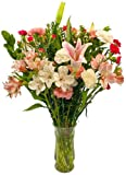 Mothers Day Flowers - Free Fast Shipping - Fresh Cut Flowers - 25 Stems