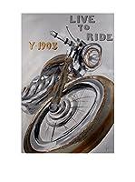 Arte Dal Mondo Lienzo Paolo Rossini Motocicletta