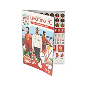 Liverpool Colouring Book from Liverpool FC