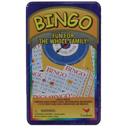 Bingo Set in A Tin