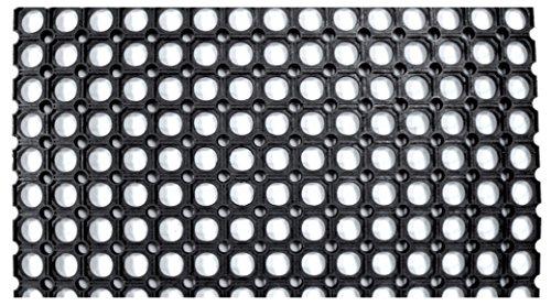 ZERBINO ROBUSTUS COMPONIBILE PVC NERO CM40X70 Confezione da 10PZ