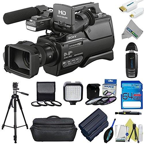 sony-hxr-mc2500-shoulder-mount-avchd-camcorder-expo-advanced-accessory-kit-international-version