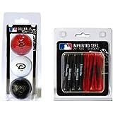 MLB Arizona Diamondbacks 3 Ball/50 Tee Pack