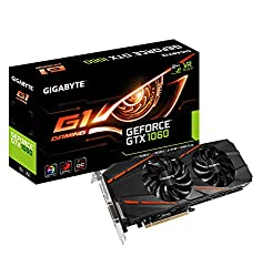 Gigabyte GeForce GTX 1060 6 GB G1 Gaming GV-N1060G1GAMING-6GD Graphics Cards