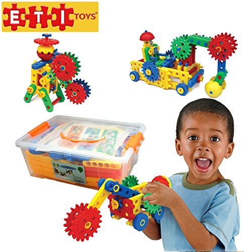Gear Building Toys For Boys : Eti building sets toys ultimate blocks gears for boys