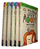 Megan McDonald Judy Moody 5 books: includes: Judy Moody / Judy Moody Gets Famous! / Judy Moody Saves the World! / Judy Moody Predicts the Future / Judy Moody - The Doctor Is In