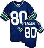 Steve Largent Blue Mitchell & Ness Authentic 1985 Seattle Seahawks Jersey - 52