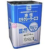 エスケー化研 水性ミラクシーラーエコ 15kg ホワイト