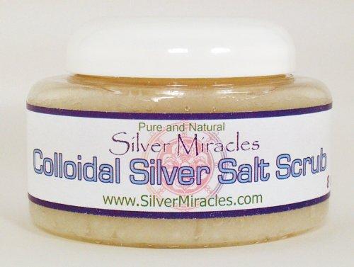 Colloidal Silver Salt Scrub - 8 oz