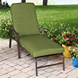 Mainstays Crossman Chaise Lounge, Green