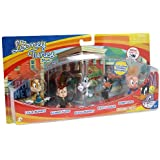 Looney Tunes Figure 5 Pack - Bugs Bunny, Lola Bunny, Daffy Duck, Porky Pig and Elmer Fudd
