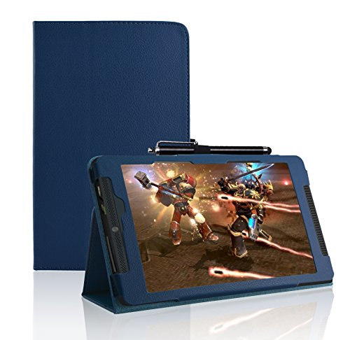 Jusun Leather Folio Stand Nvidia Shield 2 Tablet Case