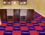 "FANMATS Philadelphia Phillies Carpet Tiles 18""x18"" tiles"