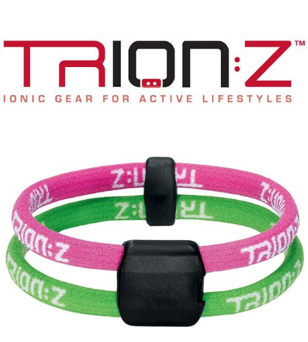 Women's Trion:Z Dual Loop Magnetic/Ion Bracelet