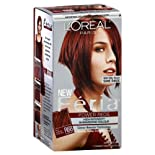 L'Oreal Feria Power Reds Permanent Haircolor Gel, Warmer, Rich Auburn True Red R68