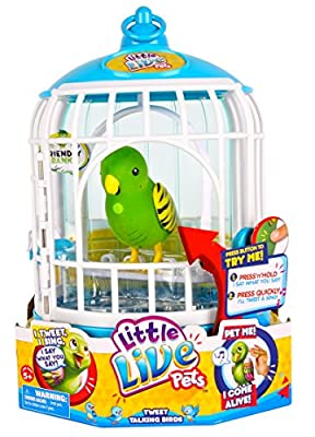 Little Live Pets Cage #1 Friendly Frankie Bird Cage from Little Live Pets